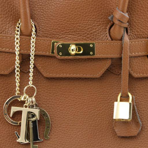 TL KeyLuck Borsa a mano media con accessori oro Bordeaux TL141092