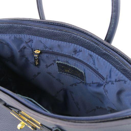 TL KeyLuck Borsa a mano media con accessori oro Celeste TL141092