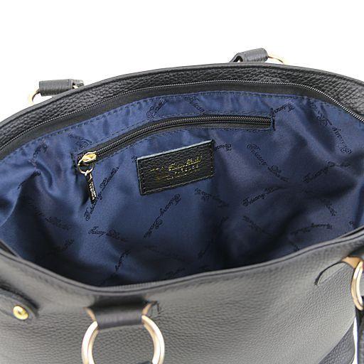 TL KeyLuck Citybag con dettagli color oro Marrone TL141117