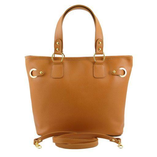 TL KeyLuck Citybag con dettagli color oro Talpa scuro TL141117