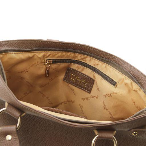 TL KeyLuck Citybag con dettagli color oro Blu TL141117