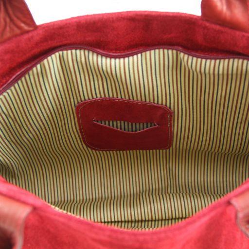TL Classy Lady suede leather bag Black TL141118