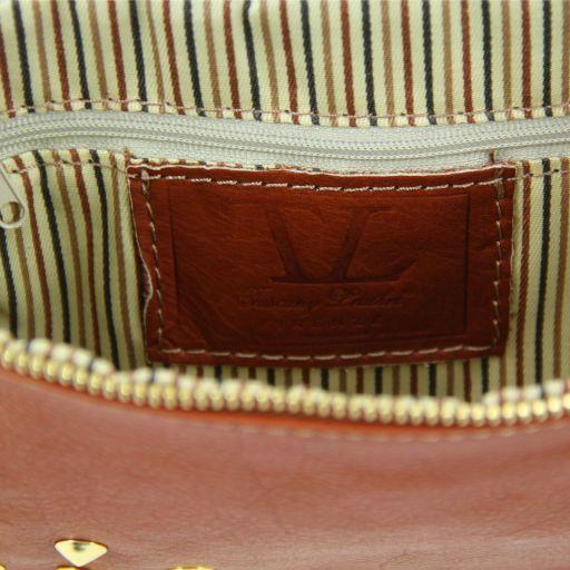 TL Rockbag Umhängetasche mit Beschläge - Klein Dunkelbraun TL141123
