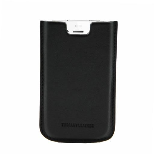 Esclusivo porta iPhone4/4s in pelle Blu TL141124