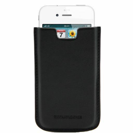 Esclusivo porta iPhone4/4s in pelle Arancio TL141124