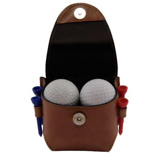 Esclusivo porta palline da golf 4 palline Testa di Moro TL141161