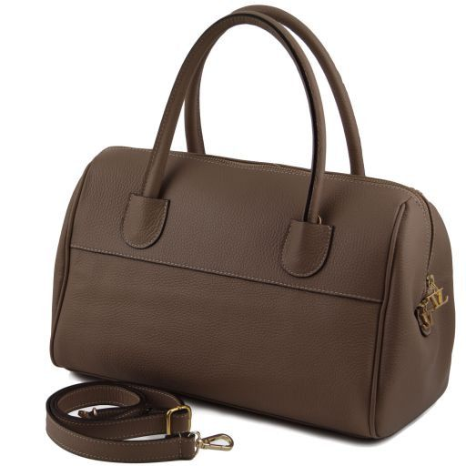 TL Bag Bauletto in pelle con accessori oro Multicolor 3 TL141210