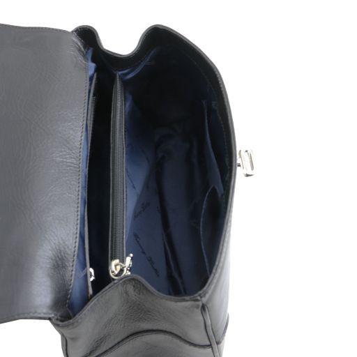 TL NeoClassic Sac Bauletto en cuir Noir TL141227