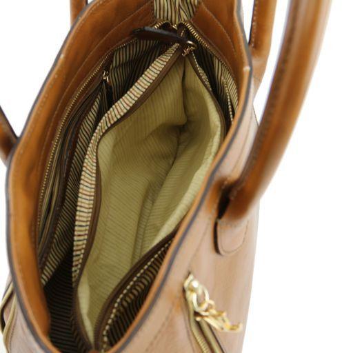 TL Bag Borsa a mano con zip frontali Testa di Moro TL141279