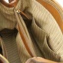 TL Bag Leather handbag with front pocket Schwarz TL141280