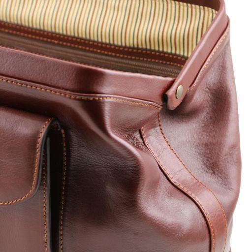 Bernini Esclusiva borsa medico in pelle Testa di Moro TL141298