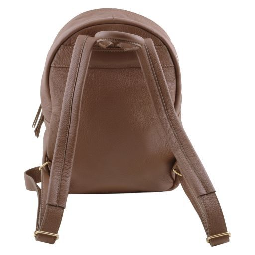 TL Bag Soft leather backpack for women Bordeaux TL141320