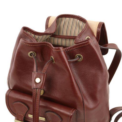 Kobe Leather Backpack Honey TL141342