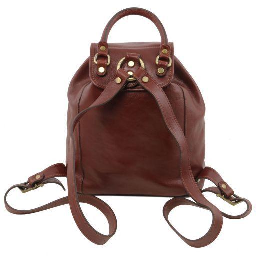 Kobe Leather Backpack Black TL141342