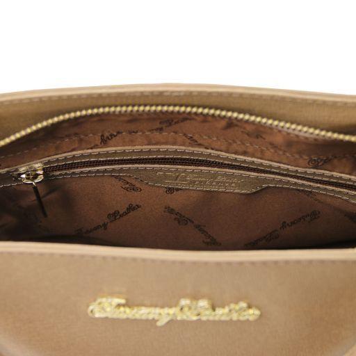 TL Bag Borsa a mano in pelle Saffiano con due manici Ottanio TL141367