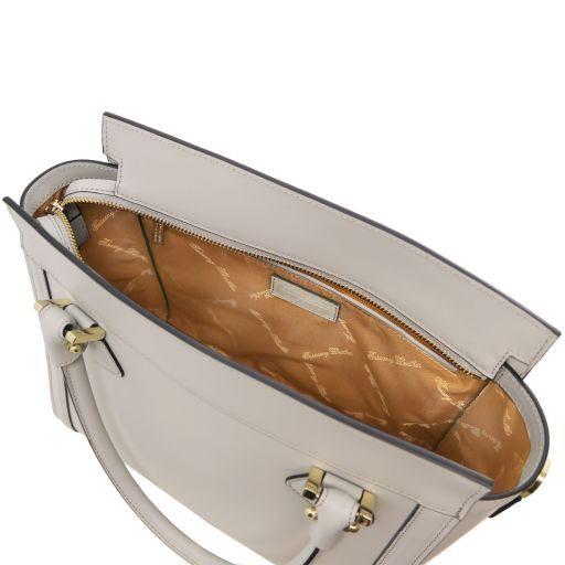 Lara Borsa a mano in pelle con zip frontale Ottanio TL141414