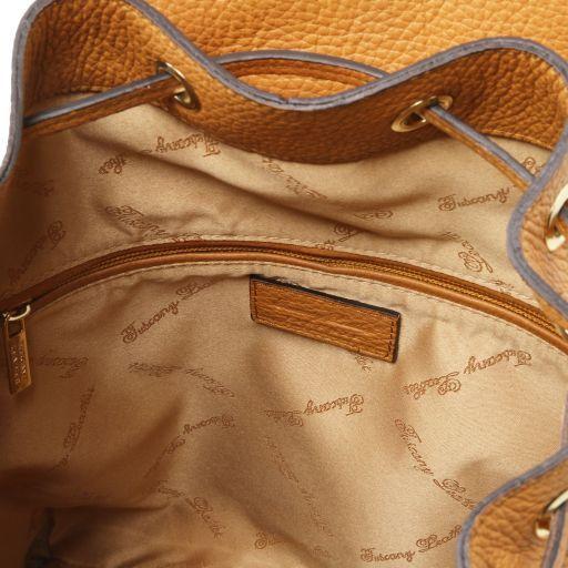 Sapporo Zaino donna in pelle morbida Cognac TL141421