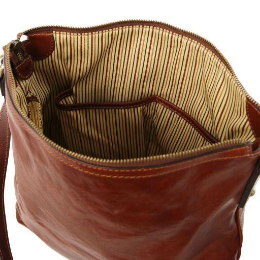 Alice Borsa donna shopper in pelle - Misura Grande Miele TL141480