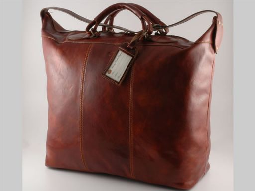 Vienna Travel leather bag - Small size Коричневый TL1046