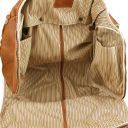 Antigua Maleta de viaje/Porta trajes en piel Marrón TL141538