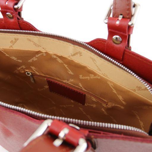 TL Bag Borsa a mano in pelle Saffiano Rosso TL141577