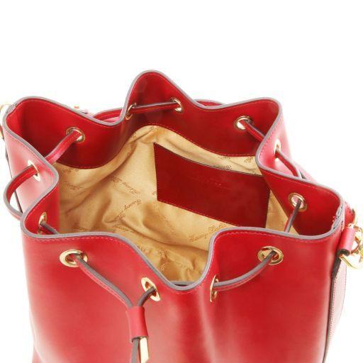 Vittoria Borsa secchiello da donna in pelle Talpa chiaro TL141587