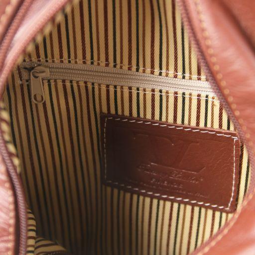 Shanghai Zaino in pelle morbida Giallo TL141608