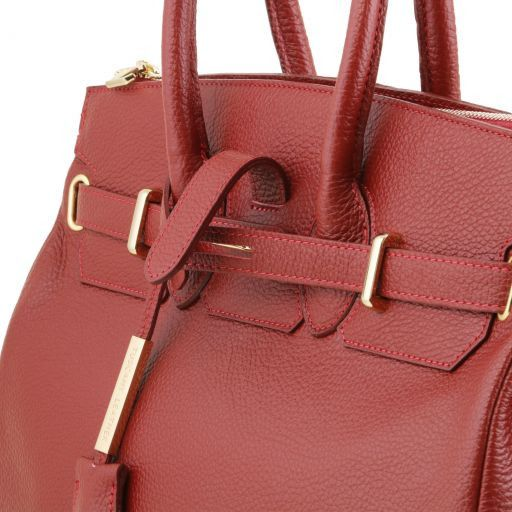TL Bag Borsa a mano media con accessori oro Celeste TL141635