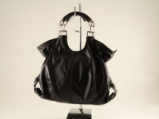 Veronica Lady nappa leather bag Black TL140884