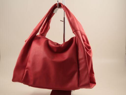 Mara Borsa in pelle nappata Rosso TL140892
