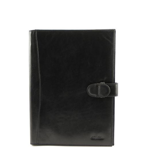 Socrate Exclusive Leather Portfolio Black TL140955