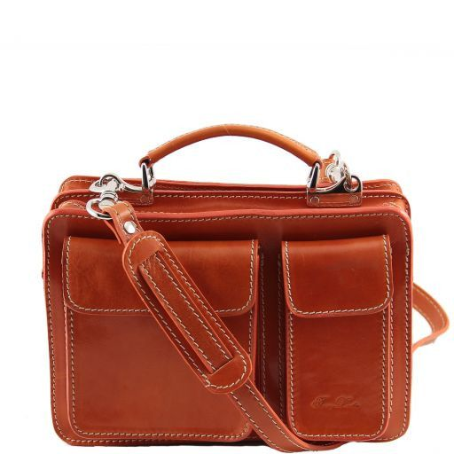 Tracy Damenhandtasche aus Leder Orange TL140960