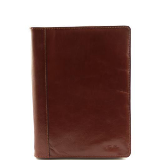 Ottaviano Porta documenti in pelle Marrone TL140965