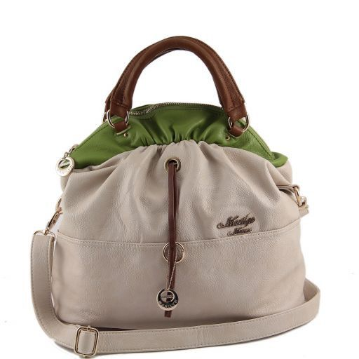Borsa bauletto Marilyn Monroe Beige MM973