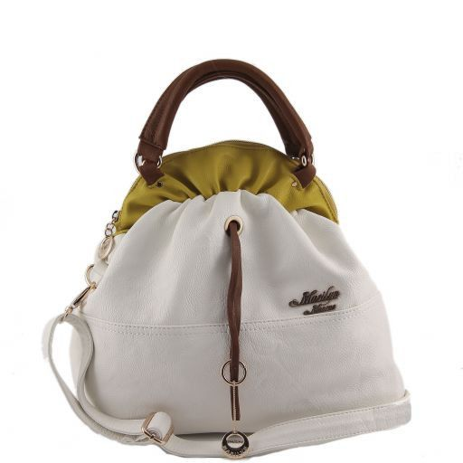 Borsa bauletto Marilyn Monroe Bianco MM973