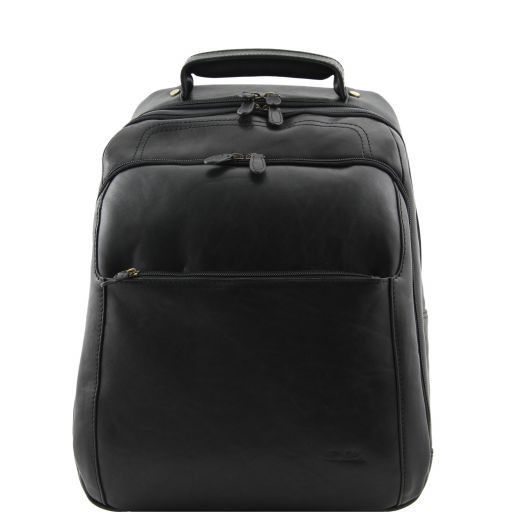 Phuket Zaino portanotebook in pelle Nero TL140978