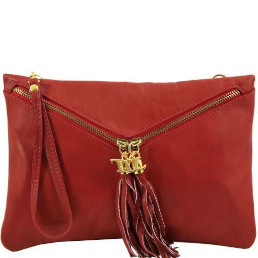 Audrey Pochette in pelle Rosso scuro TL140988