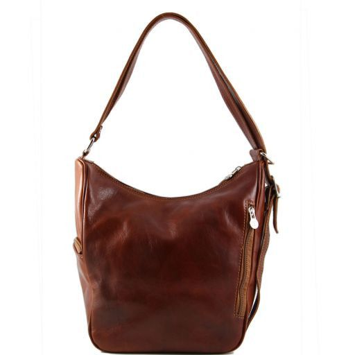 Amy Leather bag/backpack Honey TL141021