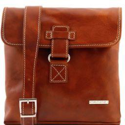 Andrea Кожаная сумка через плечо Мед TL9087
