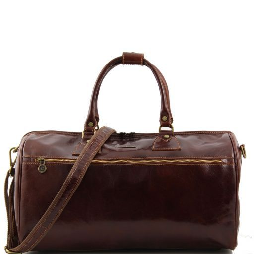 Edimburgo Travel leather bag Brown TL141040