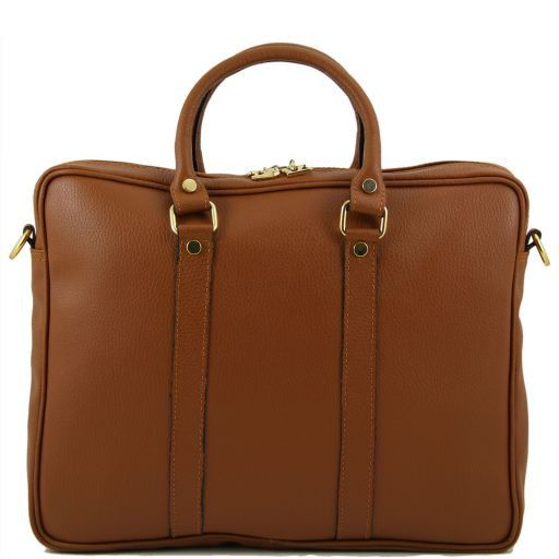 TL Bag Sac Executive en cuir Cognac TL141077