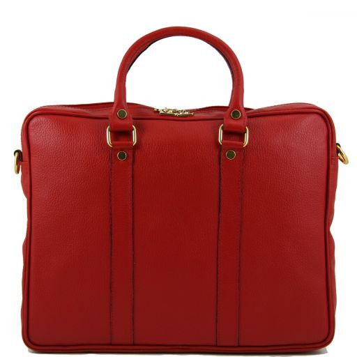 TL Bag Bolso Executive en piel Rojo TL141077