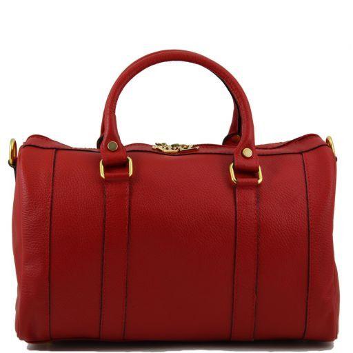 TL Bag Leather duffel bag Red TL141079