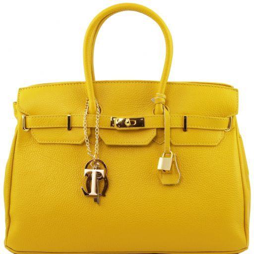 TL KeyLuck Borsa a mano media con accessori oro Giallo TL141092