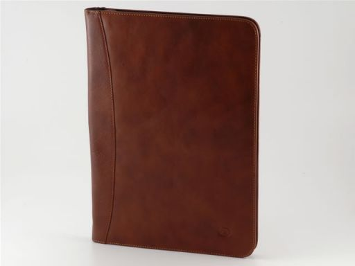 Luigi XIV Leather - Document case Dark Brown TL10094