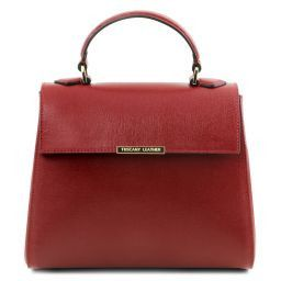 TL Bag Bauletto Tasche aus Saffiano Leder Rot TL141628