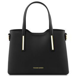 Olimpia Leather tote - Small size Black TL141521
