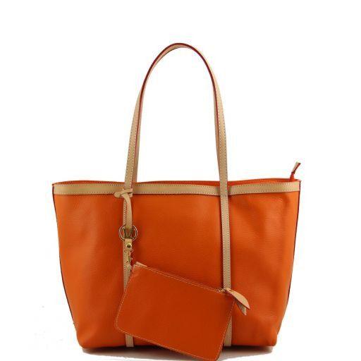 TL Bag Shopper con pendente oro Arancio TL141113