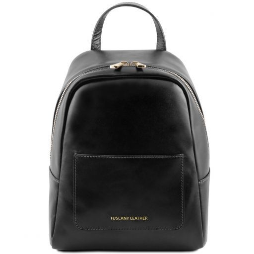 TL Bag Small leather backpack for woman Black TL141614 ... 025bd532ac2cc
