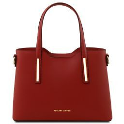 Olimpia Leather tote - Small size Красный TL141521